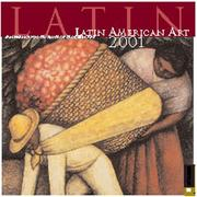 Cover of: Latin American Art 2001 Calendar | San Francisco Museum of Modern Art.