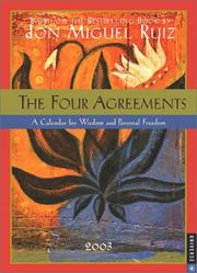 Cover of: The Four Agreements 2003 Engagement Calendar | Don Miguel Ruiz