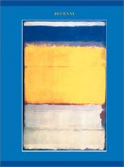 Cover of: Mark Rothko, Number 10
