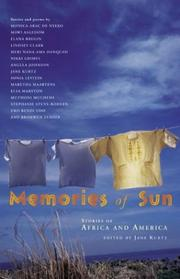 Cover of: Memories of Sun: Stories of Africa and America