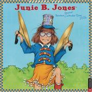 Cover of: Junie B. Jones