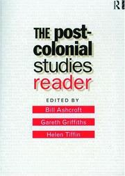 Cover of: The post-colonial studies reader