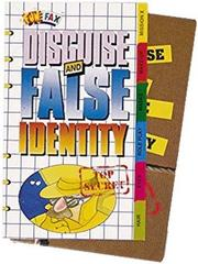Cover of: Disguise and False Identity (Henderson Spy File Fax) | DK Publishing