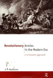 Cover of: Revolutionary armies in the modern era