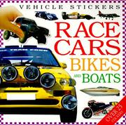 Cover of: Vehicle Stickers | DK Publishing