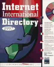 Cover of: Internet International Directory 1997 with CD-ROM