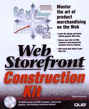 Cover of: Web Storefront Construction Kit