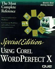 Cover of: Special Edition Using Corel Wordperfect 8