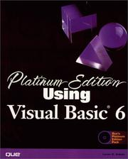 Cover of: Platinum Edition Using Visual Basic 6 (Using ... (Que))