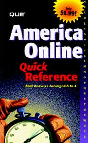 Cover of: America Online 4 Quick Reference