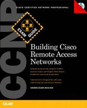 Cover of: CCNP Building CISCO Remote Access Networks Exam Guide (640-505)