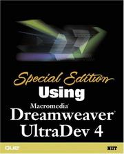 Special Edition Using Macromedia Dreamweaver UltraDev 4