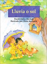 Cover of: Lluvia O Sol / Rain or Shine (Pequeñas Bendiciones)