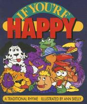Cover of: If You're Happy: A Traditional Rhyme