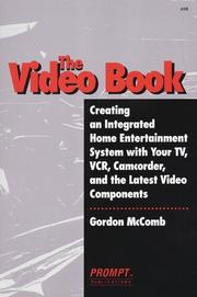 Cover of: Video Book