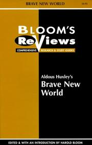 Cover of: Aldous Huxley's Brave New World