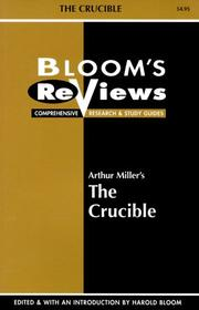 Cover of: Bloom's Reviews
