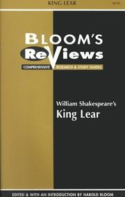 Cover of: William Shakespeare's King Lear