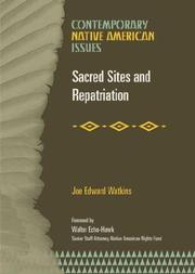 Cover of: Sacred Sites and Repatriation (Contemporary Native American Issues)