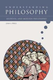 Cover of: Medieval and Modern Philosophy (Growing With Philosophy)