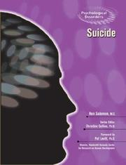 Cover of: Suicide (Psychological Disorders)