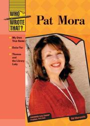 Cover of: Pat Mora (Who Wrote That?)