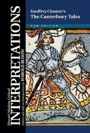 Cover of: General Prologue to the Canterbury Tales | Harold Bloom