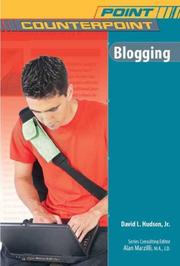 Cover of: Blogging (Point/Counterpoint)