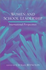 Women and School Leadership by Cecilia Reynolds