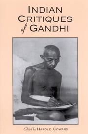 Cover of: Indian Critiques of Gandhi (Suny Series N Religious Studies) | Harold G. Coward