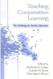 Cover of: Teaching Cooperative Learning |