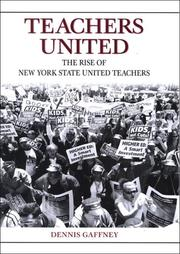 Cover of: Teachers United