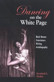 Cover of: Dancing on the White Page | Kwakiuti L. Dreher
