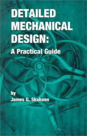 Cover of: Detailed Mechanical Design