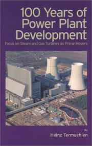 Cover of: 100 Years of Power Plant Development