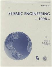 Cover of: Seismic Engineering