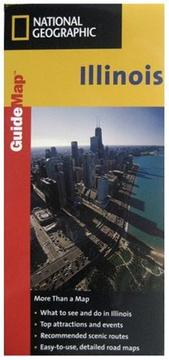 Cover of: Illinois Guide Map | National Geographic Society