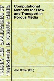 Cover of: Computational Methods for Flow and Transport in Porous Media