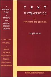 Cover of: Text Therapeutics