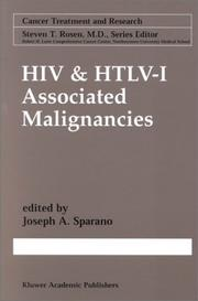 Cover of: HIV & HTLV-I Associated Malignancies (Cancer Treatment and Research)