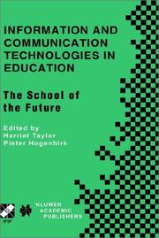 Cover of: Information and Communication Technologies in Education |