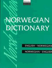 Cover of: Norwegian Dictionary