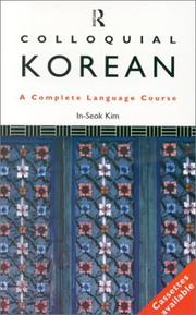 Cover of: Colloquial Korean