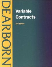 Cover of: Variable Contracts | Dan Tromblay