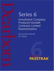 Cover of: Series 6 Edition 23 (Dearborn Passtrak) |