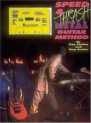 Cover of: Speed and Thrash Metal Guitar Method Cassette Pkg |