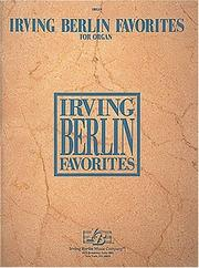 Cover of: Irving Berlin Favorites For Organ