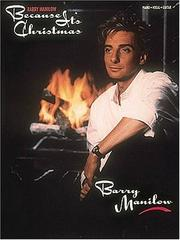 Cover of: Barry Manilow - Because It's Christmas