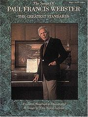 Cover of: The Songs Of Paul Francis Webster