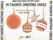 Cover of: My Favorite Christmas Carols